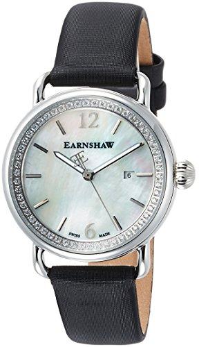 Thomas Earnshaw dames analoog kwarts smartwatch polshorloge met lederen armband ES-0022-05