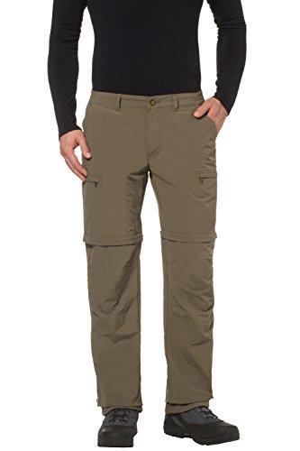 Vaude Farley Zip Off IV Pantalon Homme - Tarn - FR : L (Taille Fabricant : 52)