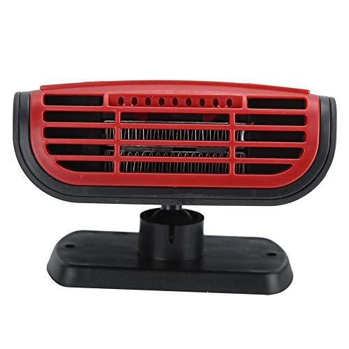Nunafey Plug Into Accendisigari Parabrezza Sbrinatore, Ventola di Riscaldamento, 150 W 12V per Condizionatore d'Aria Veicolo Camion Auto
