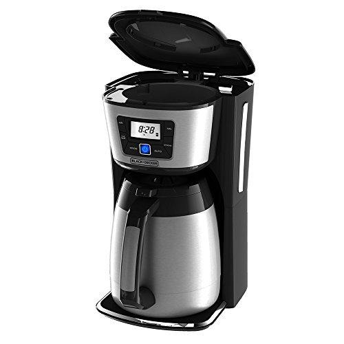 Black Decker & CM2035B Cafetière (indépendant Semi-automatique Drip coffee maker Café noir argent acier inoxydable)