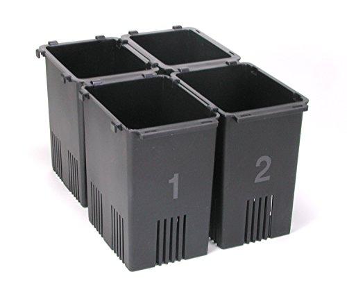 【冷蔵庫用野菜収納ケース】 備長炭入り 野菜スタンド菜鮮箱4個組