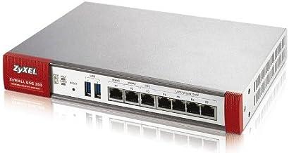 ZyXEL USG-200 - Punto de Acceso (3DES, Des, IPSec, SSL, SHA-1, SHA-2/MD5, 1 Gbit/s, Gigabit Ethernet, 10/100/1000 Mbps)