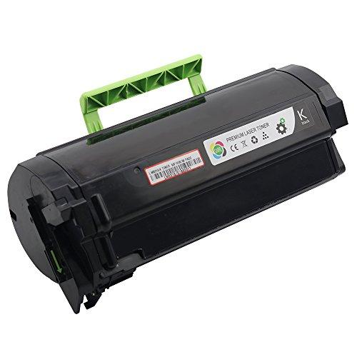 CAIRE(TM Compatible Lexmark MS310d MS310dn, MS312dn, MS315dn, MS410d, MS410dn, MS415dn, MS510dn, MS610de, MS610dn, MS610dte, MS610dtn Toner Cartridge (MS 310: 5.0K)