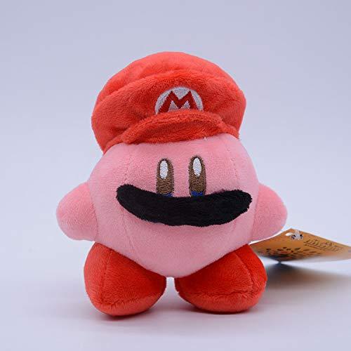 XINBANG Anime key pendant Set Japanese Mario Star Kabi Co-star Kirby Vadodi Transformed Into A Plush Doll Pendant Pendant Pendant Pendant.