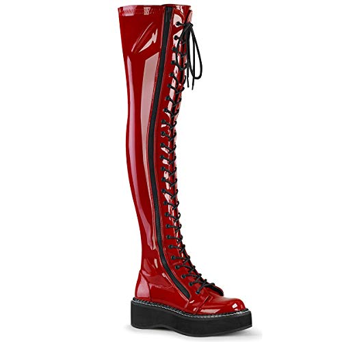 Demonia Women's Emily-375 Thigh-high Boot