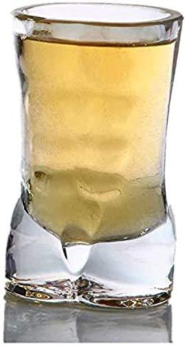 HHYSPA Taza de Cerveza única Copa de Vino Divertida Whisky Vodka Vasos...
