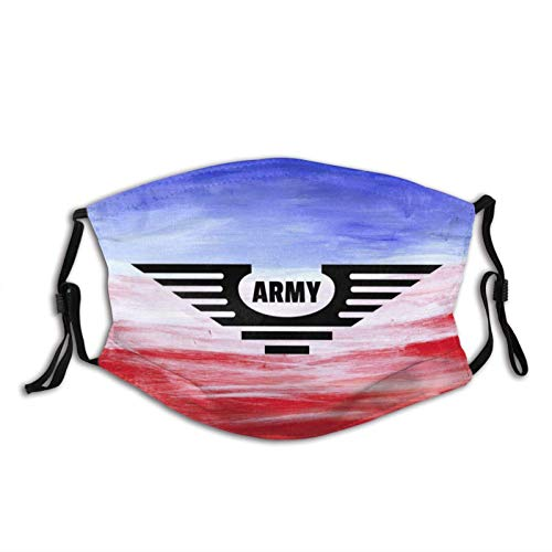 WEDA U.s Army Unisex dust masks, washable and reusable outdoor dust masks, special holiday funny mask gifts