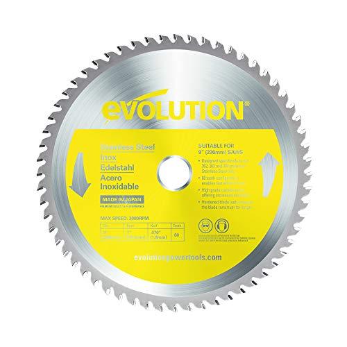 Evolution 230 mm Stahlblatt, 230mm