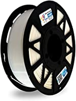 3Idea Premium PLA 1.75mm 3D Printer Filament, Dimensional Accuracy +/- 0.03mm (White, 1 kg)