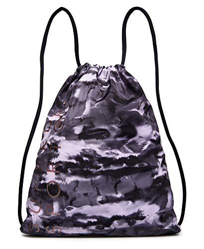 Superdry Damen Sporttaschen mit Kordelzug Einheitsgröße Orchid Black Ink
