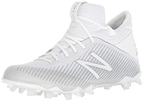 New Balance Men's FreezeLX 2.0 Box Lacrosse Shoe, White/White, 14 M US
