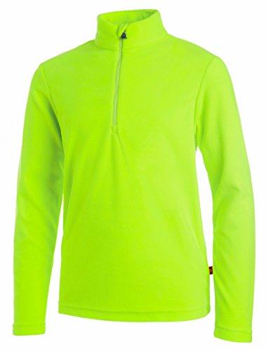 Medico Kinder Ski Fleece Shirt - Hell-Grün - Größe 140
