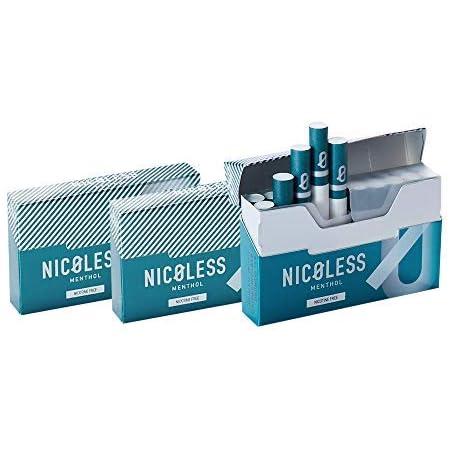 【セット】 NICOLESS ニコレス メンソール 3箱 (1箱 20本入り) IQOS互換機 加熱式