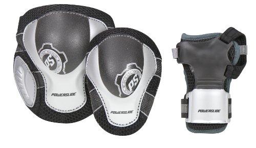 Powerslide Herren Schutz Pro Air, schwarz grau grün, XL, 903120/6