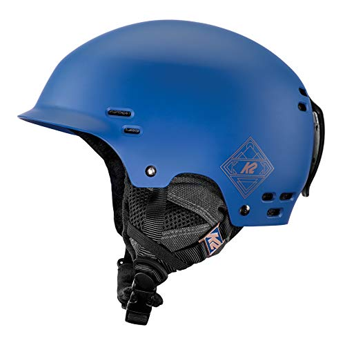 K2 Skis Heren Skihelm THRIVE blauw 10C4004.3.5 Snowboard Snowboardhelm hoofdbescherming protector