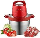 Chopper de alimentos, 6L Potente MANUAL HUCHUJO HAPPER, Blender para cortar frutas, nueces, hierbas, cebollas, procesador de verduras/procesador de alimentos licuadora portátil ZJSXIA