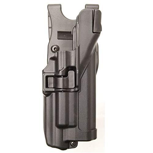 Blackhawk SERPA Level 3 Light Bearing Auto Lock Duty Holster, unisex, schwarz