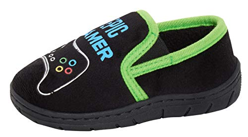Zapatillas de juego épicas para niños con forro polar cálido, color, talla 23 EU