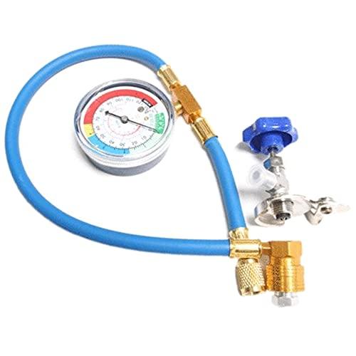 Varadyle Tubo di Misurazione della Valvola di Misurazione della Carica 350PSI Tubo del Refrigerante per Auto R134A R12 R22, Condizionatore d'Aria