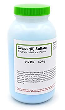Laboratory-Grade Copper  II  Sulfate 5-Hydrate Powder 500g - The Curated Chemical Collection