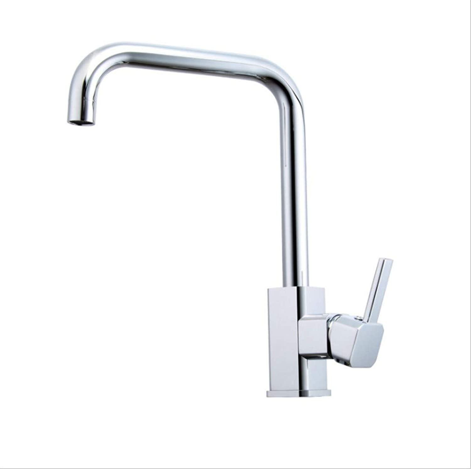 Kitchen Sink Taps Bathroom Taps High-Grade Copper Kitchen Sink Faucet Cold and Hot Mixed Water Dishwasher Basin Faucet