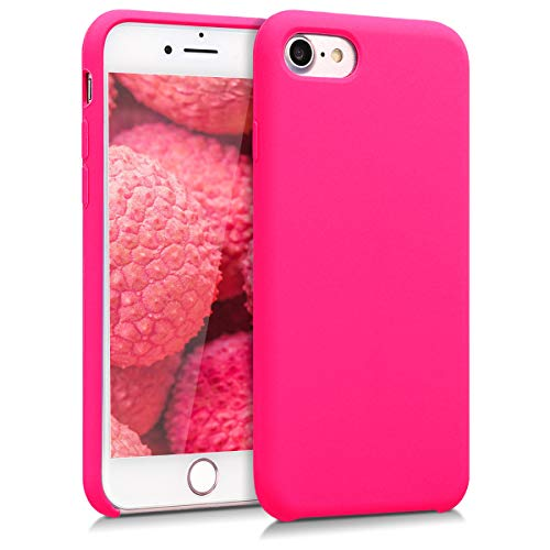 kwmobile Apple iPhone 7/8 Hülle - Handyhülle für Apple iPhone 7/8 - Handy Case in Neon Pink