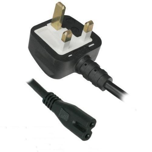 Oplader 2-pins Fig 8 RU voeding voor Panasonic/Samsung/Sony/Philips/Essentials/LG/Logik/Smart TV Blu-Ray DVD-speler/recorder speler