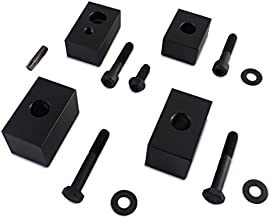 FRONT Seat Lift Kit - Spacer Blocks compatible with Jeep Wrangler JL JLU JT Gladiator 2018+J
