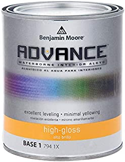 Benjamin Moore Advance High-Gloss Base 1 Alkyd Paint 1 qt. - Case of: 4