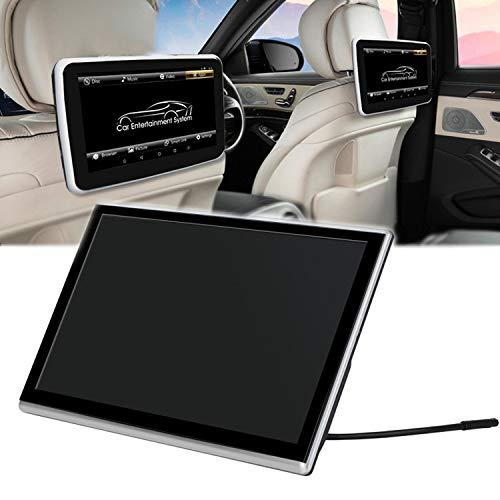QJJML AutokopfstüTzenmonitor,UltradüNner HochauflöSender Tragbarer 11,6-Zoll-Touchscreen-Multimedia-Player Mit HDMI-Anschluss,Bluetooth/WiFi-UnterstüTzung,16G-Speicherplatz,Einfach Installieren