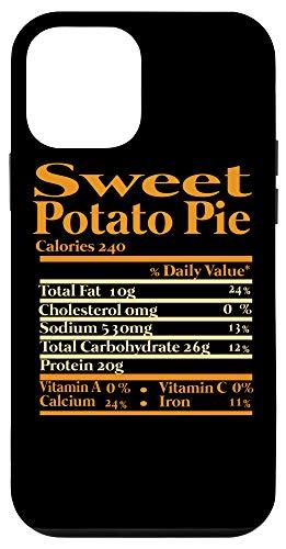iPhone 12 mini Sweet Potato Nutrition Fact for Thanksgiving meme Family Case