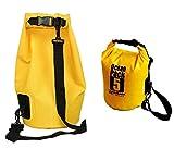 PETRICE 5L Waterproof Outdoor Ocean Pack Swimming Dry Bag for Travelling,Camping,Hiking, Rafting (Multi Color)