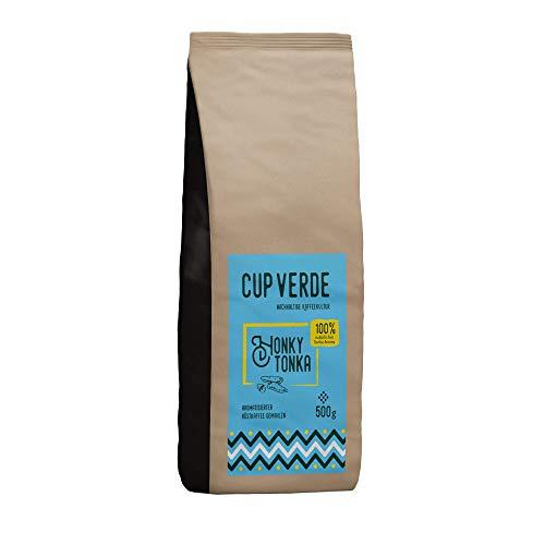 CUP VERDE Honky Tonka Kaffee gemahlen 500 g mit natürlichem Aroma der Tonkabohne (Tonkabohne)