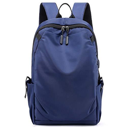 Rugzak LKU Fashion Casual rugzak waterdichte laptoptas heren reistas rugzak college student tas, blauw (blauw) - 6959925502875