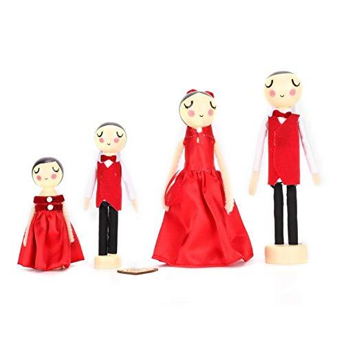 Schöne, Mini-Hochzeitspuppe, für Hochzeit für Weihnachtsgeschenk