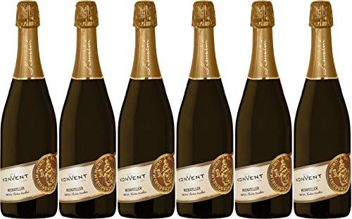 Weinkonvent Dürrenzimmern eG Muskateller Sekt 2018 Extra Trocken (6 x 0.75 l)