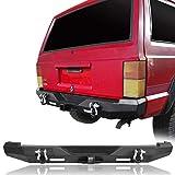 u-Box Cherokee Discovery Rear Bumper w/2x 18W LED Floodlights for Jeep Cherokee XJ 1984-2001