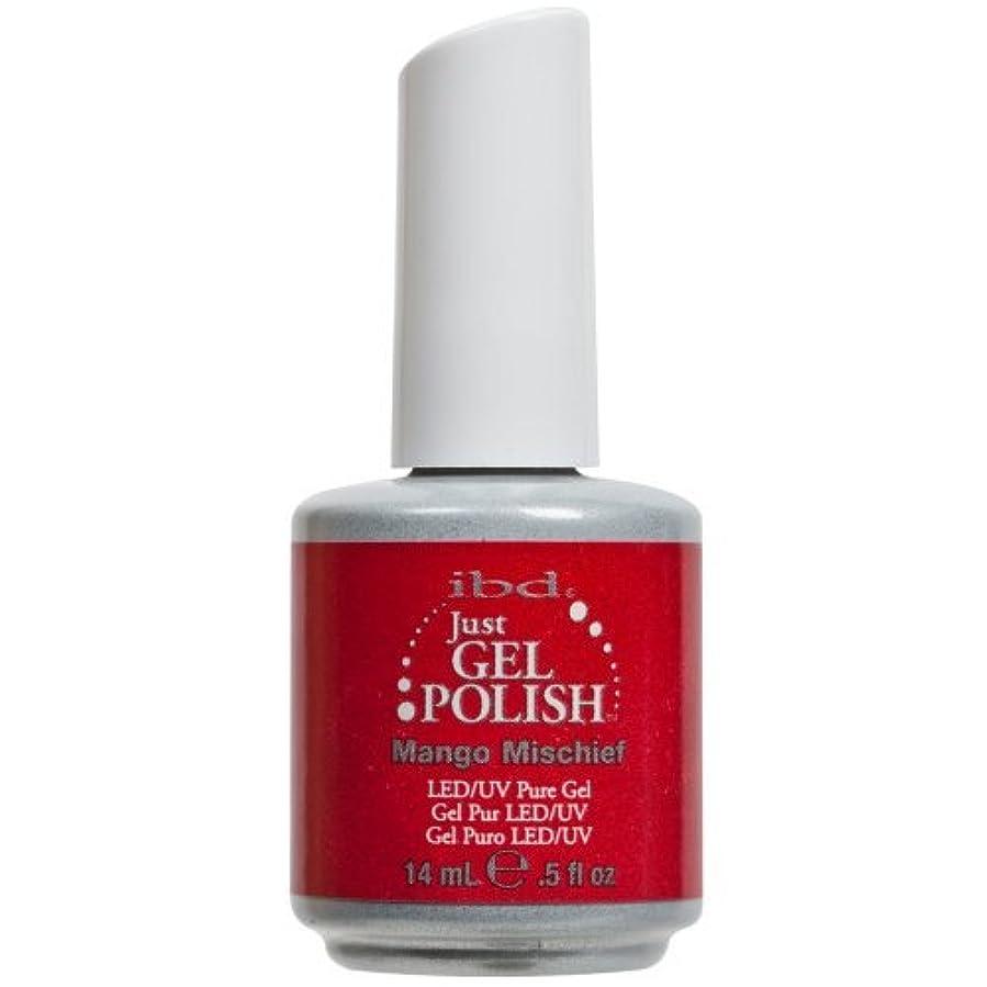 署名値ネットIBD Just Gel Nail Polish, Mango Mischief, 0.5 Fluid Ounce by IBD [並行輸入品]