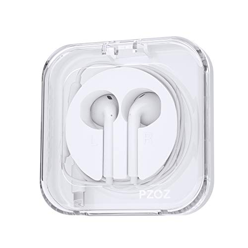 PZOZ Kopfhörer Box Geeignetfür Apple in Ear Kopfhöre Kabel, Ohrstöpsel Lagerung Hülle Kopfhörer Kabelaufwickler Kopfhörer Cable Management Tasche, für iPhone/iPad/iPods in Ear Kopfhöre Kabel(Weiß)