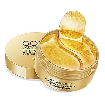 Under Eye Mask, Collagen Eye Mask, Eye Treatment Masks, Anti Aging Eye Patches, 24K Gold Eye Mask for Dark Circles, Wrinkles, Puffy Eyes and Moisturiser, 30 Pairs Eye Masks from Yanfasy