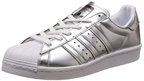 Adidas - Superstar Boost Women Silver Metallic - BB2271 - Kleur: Zilveren - Maat: 36 2/3 EU