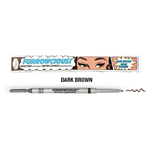 theBalm Furrowcious! Brow Pencil with Spooley - Dark Brown (6 Pack)