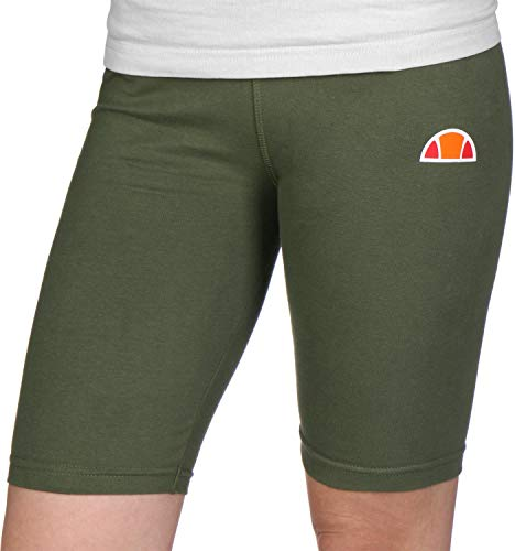 Ellesse Tour Cycle Short, Pantalone Corto Donna, Verde Scuro, XL