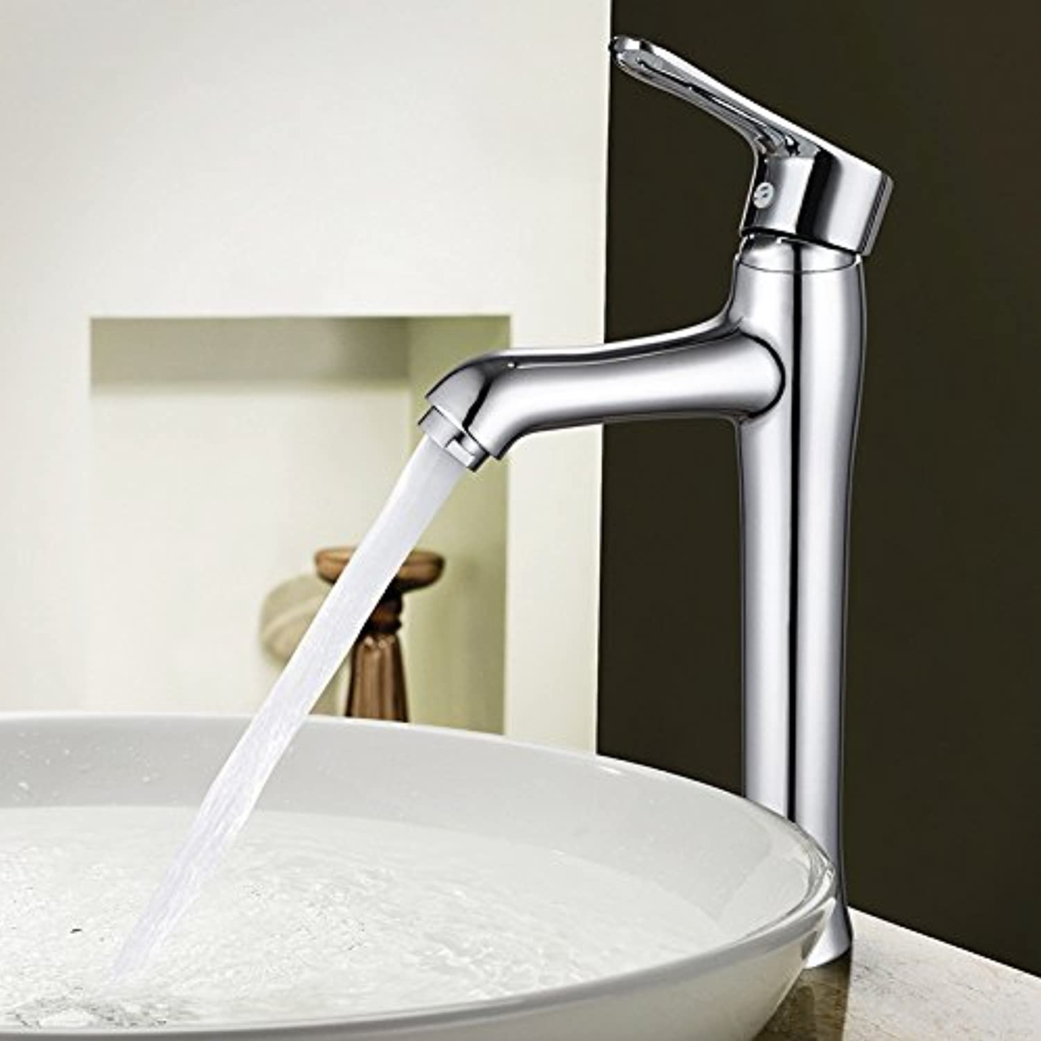 TYAW-SHOP A water faucet bathroom sink hot and cold dual control single hole tower