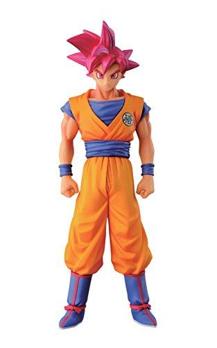 "Banpresto Dragon Ball Z 5.9"" Super Saiyan God Son Goku Figure, Chozousyu Series image"