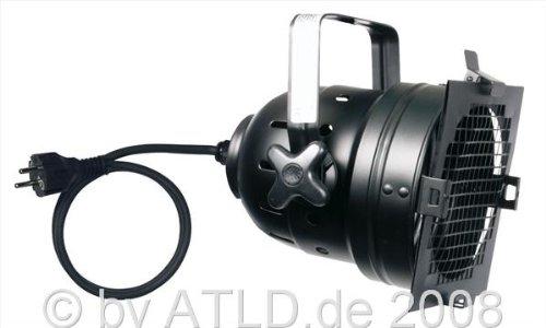 Showtec Par 56 Kanne, schwarz, kurz, m. Kabel u. Stecker, FFR