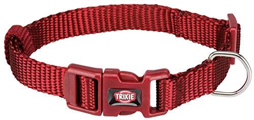 TRIXIE Premium Halsband Größe XS-S: 22-35 cm / 10 mm in rot