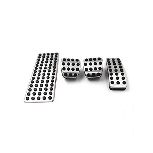 ZPARTNERS Cuscinetti a Pedale in Acciaio Inox MT per Benz A, B, ML, GL, GLA Mercedes W168 W169 W176 W245 W246 C117 X156 W164 W166 X164 X166 W251