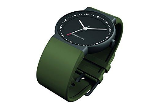 Rosendahl Herren Analog Quarz Smart Watch Armbanduhr mit PU Armband 43253