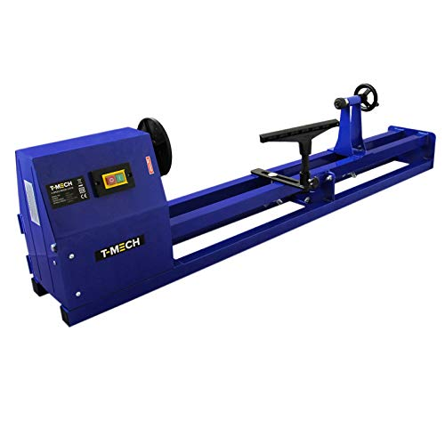 Wood Lathe 1m Woodturning Variable Speed Work Faceplate Carpentry Woodwork...